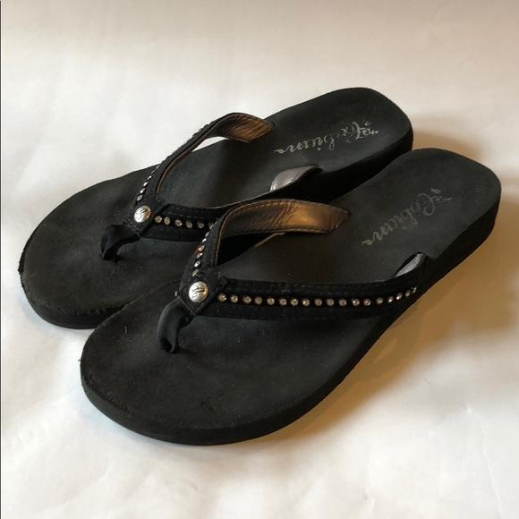 92b3947818ce56 Cobian Shoes - Cobian flip flops black bling size 6